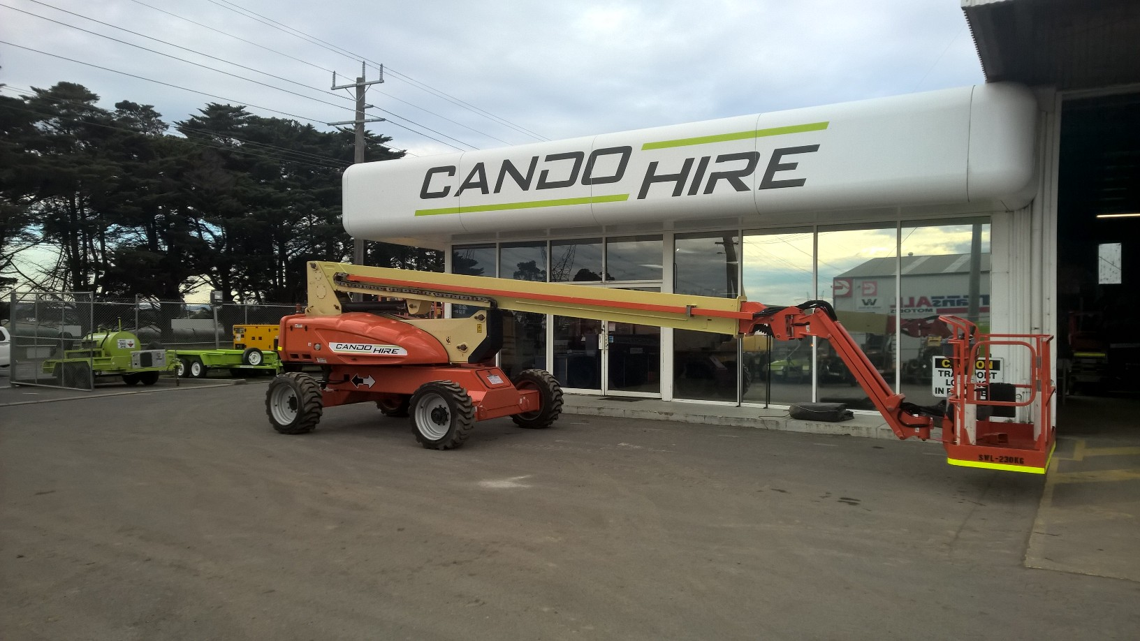 Boom Lift for hire morwell