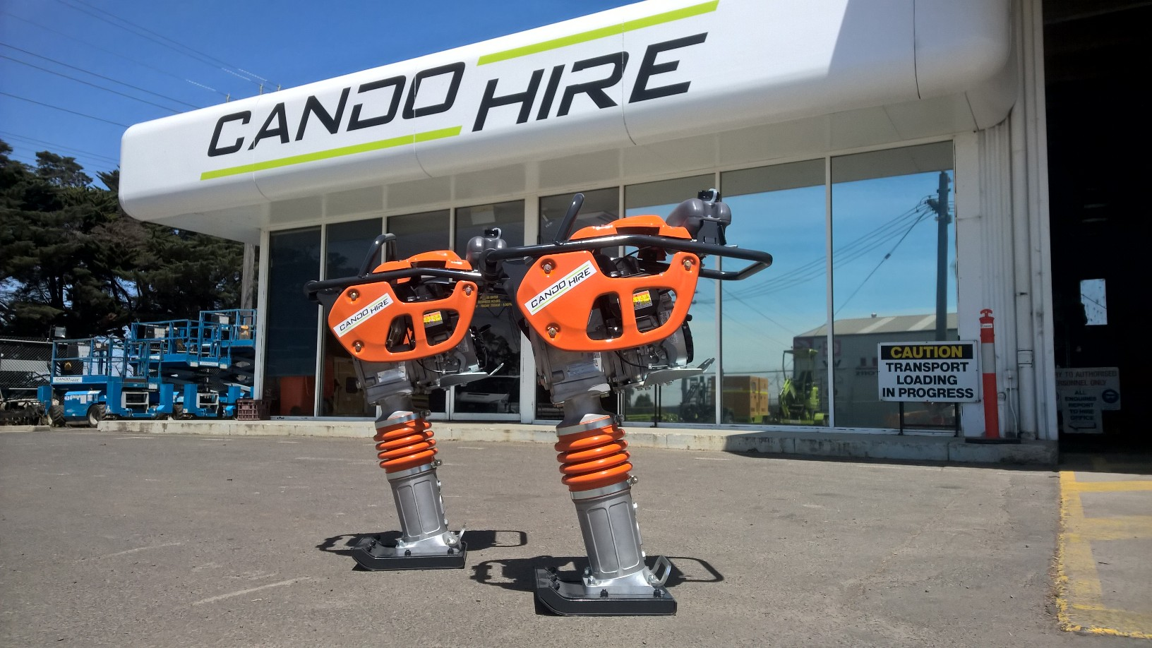 Equipment for hire morwell